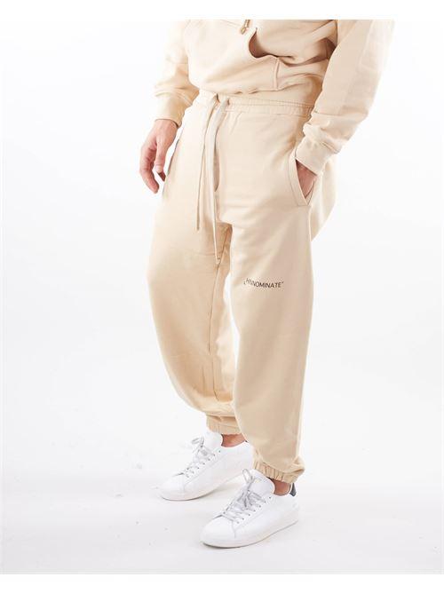 Pantalone in felpa con logo Hinnominate HINNOMINATE | Pantalone | SP06BISCOTTO