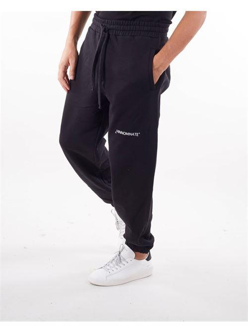 Pantalone in felpa con logo Hinnominate HINNOMINATE | Pantalone | SP06NERO