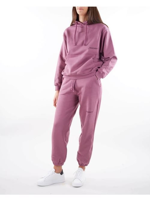 Pantalone in felpa con micro logo Hinnominate HINNOMINATE | Pantalone | SP08VIOLA