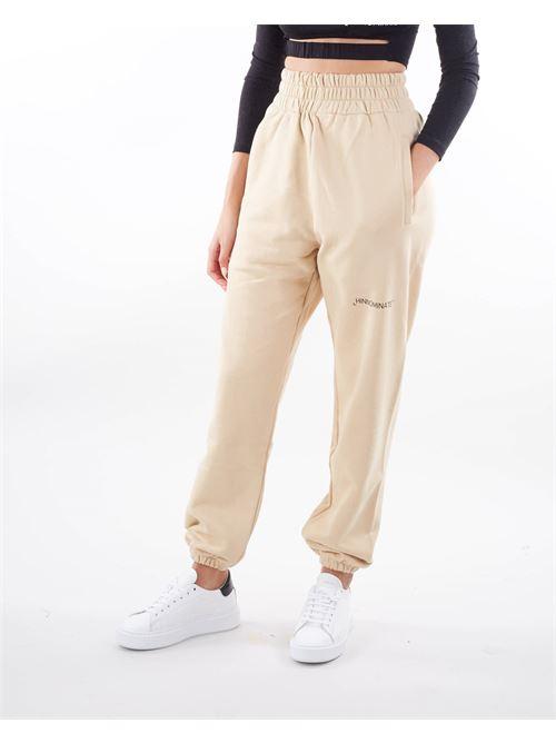 Pantalone in felpa a vita alta Hinnominate HINNOMINATE | Pantalone | SP32BISCOTTO