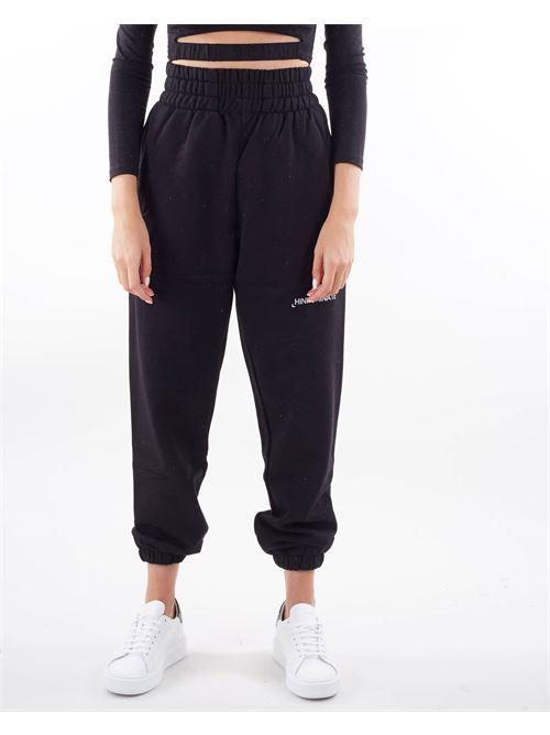 Pantalone in felpa a vita alta Hinnominate HINNOMINATE | Pantalone | SP32NERO
