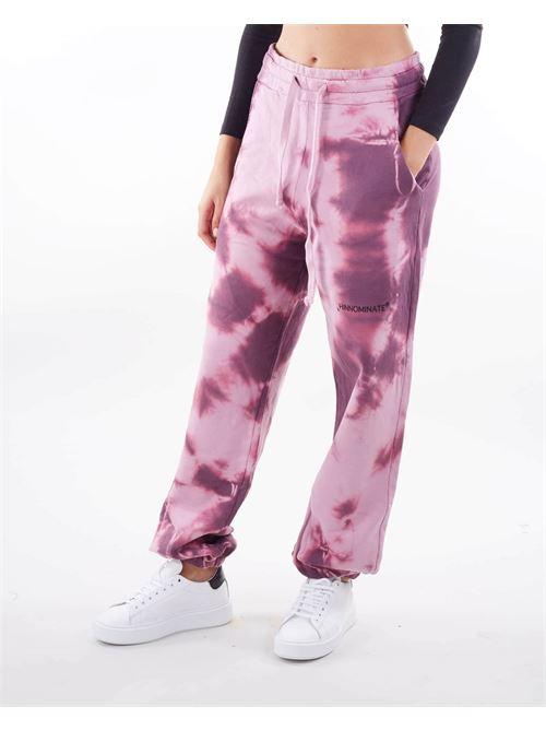 Pantalone in felpa Tiedye Hinnomnate HINNOMINATE | Pantalone | SP58ROSA