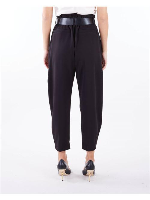 Pantalone con cintura Imperial IMPERIAL | Pantalone | P1W8CNINERO