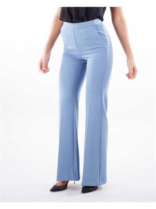 Pantalone a zampa di Imperial IMPERIAL | Pantalone | P3E9CDHPOLVERE