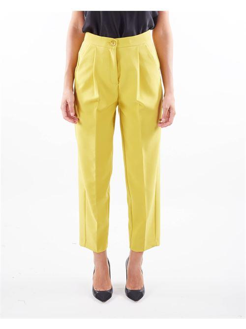 Pantalone con pences Imperial IMPERIAL | Pantalone | P9990015MGIALLO
