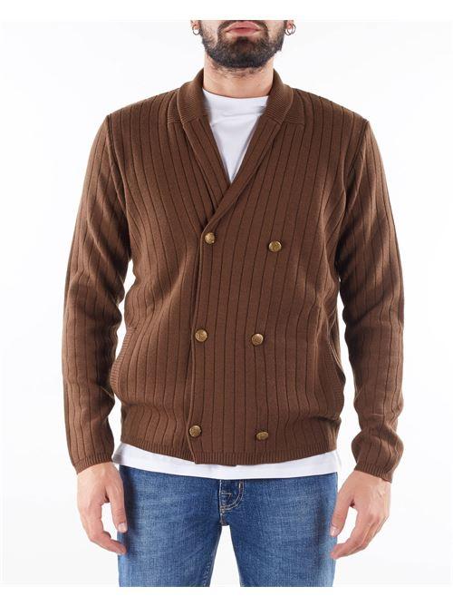 Giacca in maglia doppiopetto con collo sciallato Jeordie's JEORDIE'S | Giacca | 85739318