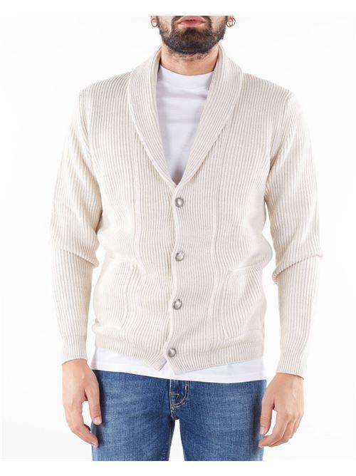 Giacca in maglia a costine con collo sciallato Jeordie's JEORDIE'S | Giacca | 85741119