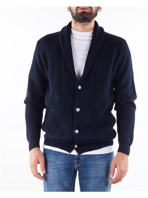 Giacca in maglia a costine con collo sciallato Jeordie's JEORDIE'S | Giacca | 85741400