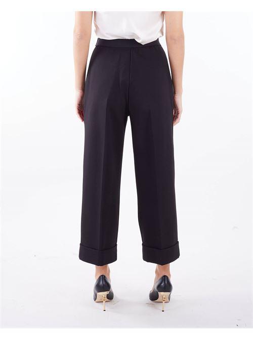Pantaloni cropped tinta unita Manila Grace MANILA GRACE | Pantalone | P152VUMA001