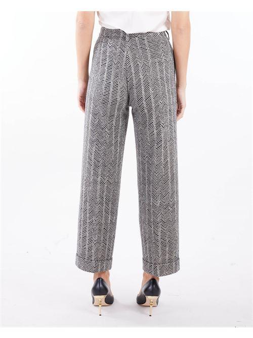Pantaloni cropped spinato Manila Grace MANILA GRACE | Pantalone | P160PJMA148