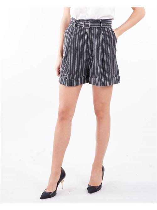 Shorts a righe Manila Grace MANILA GRACE | Shorts | P275AIMA135