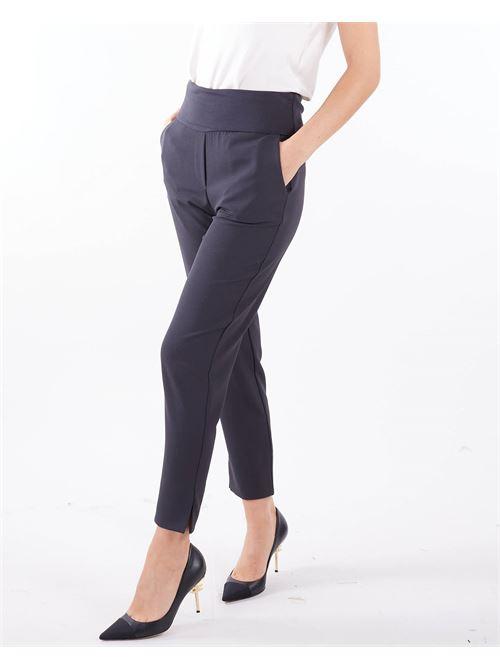 Pantaloni a sigaretta Manila Grace MANILA GRACE | Pantalone | P475PUMA135