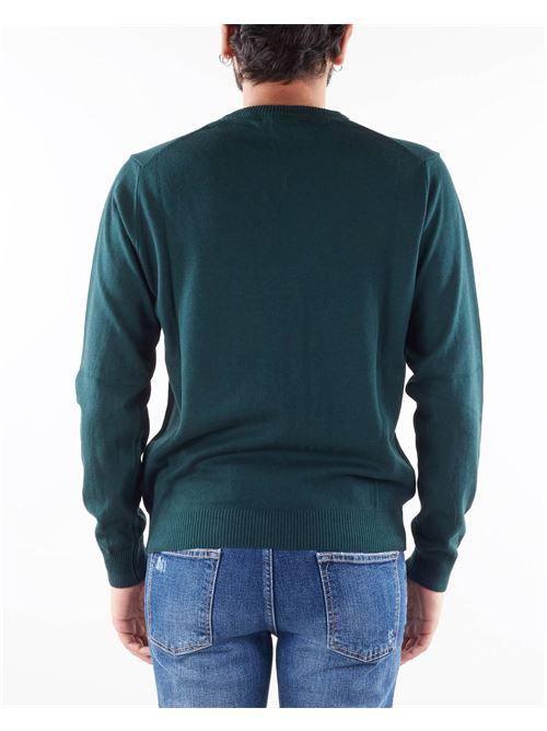 Maglia in lana con ricamo logo Manuel Ritz MANUEL RITZ   Maglia   3132M50021380638