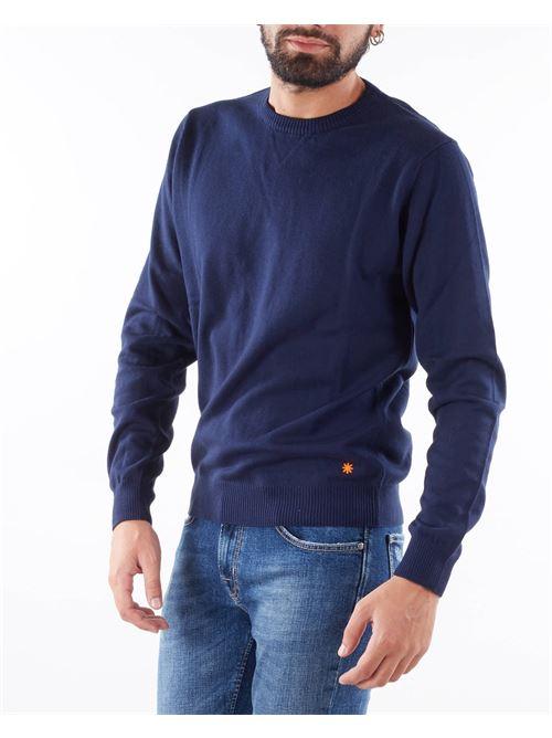Maglia in lana con ricamo logo Manuel Ritz MANUEL RITZ   Maglia   3132M50021380688