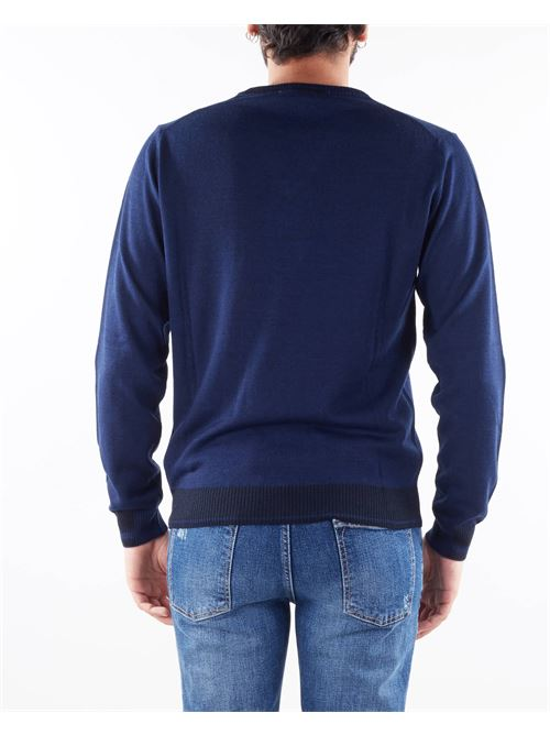 Maglia in lana con scollo a V Manuel Ritz MANUEL RITZ | Maglia | 3132M50321380788