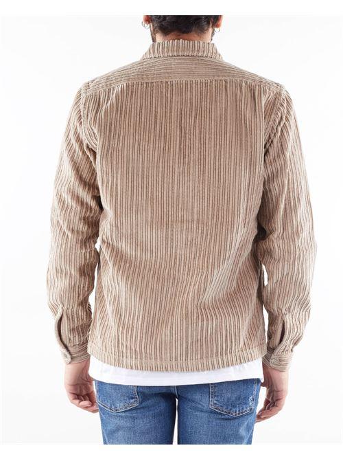 Maxi camicia in velluto a costine Mastricamiciai MASTRICAMICIAI | Giacca | MC272PT033