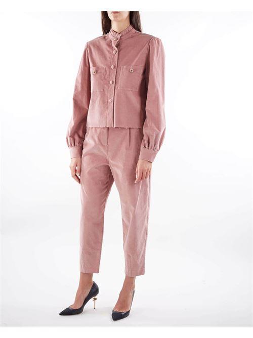 Camicia a costine in velluto Matilde Couture MATILDE COUTURE | Camicia | GEORGIACIPRIA