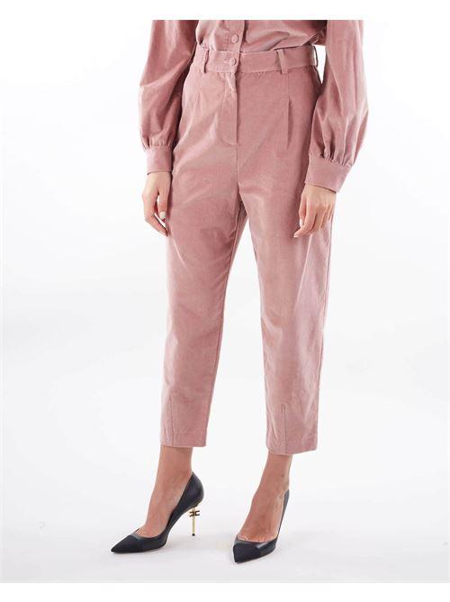 Pantalone a costine in velluto Matilde Couture MATILDE COUTURE   Pantalone   PORTLANDCIPRIA