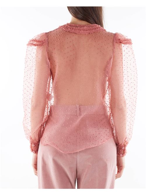 Camicia in tulle trasparente Matilde Couture MATILDE COUTURE   Camicia   TOFUCIPRIA