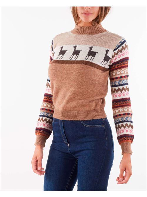 Maglia in filato di lana e alpaca Max Mara Weekend MAX MARA WEEKEND   Maglia   HOT6