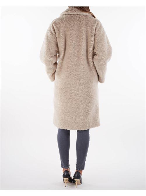 Cappotto in misto lana effetto pelliccia Max Mara Weekend MAX MARA WEEKEND   Cappotto   SALMONE5