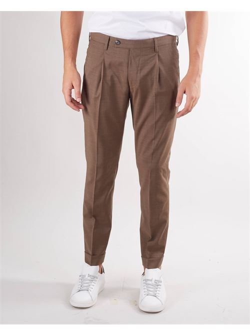 Pantalone in fresco lana con pences Michael Coal MICHAEL COAL | Pantalone | FREDERICK352833