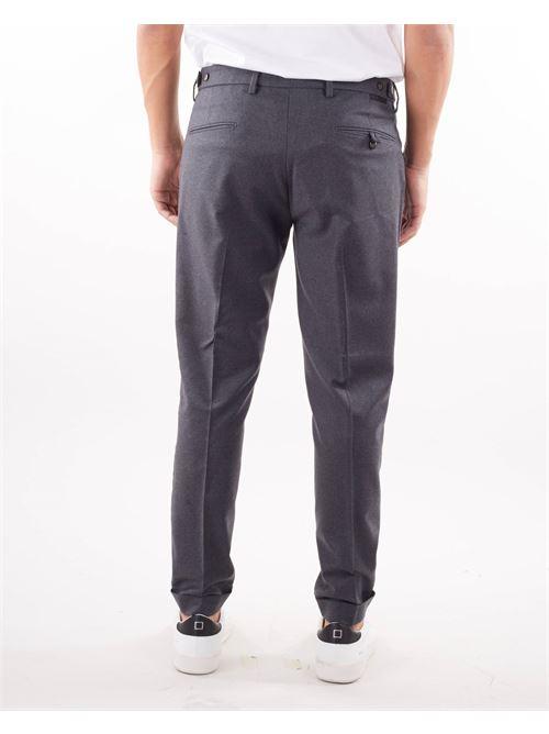 Pantalone in lana con pences Michael Coal MICHAEL COAL | Pantalone | FREDERICK3610GRIGIO