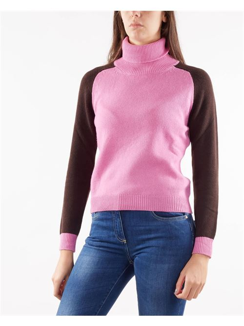 Maglia a collo alto in misto cashmere Nenette NENETTE | Maglia | MOLLY2160