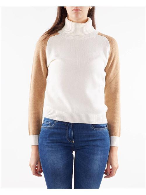 Maglia a collo alto in misto cashmere Nenette NENETTE | Maglia | MOLLY2161