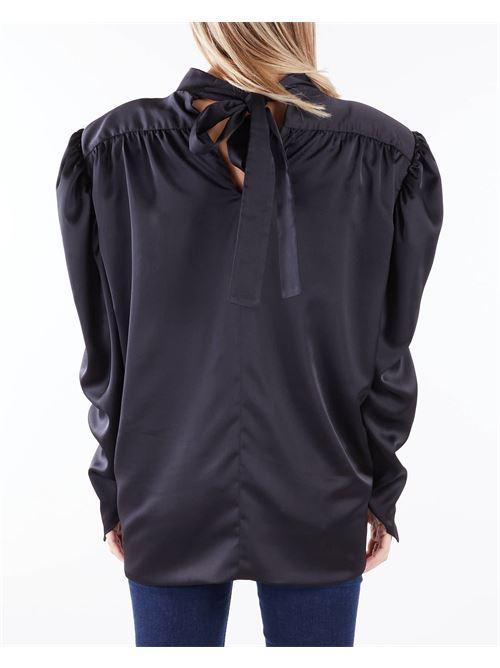 Camicia con drappeggio Nineminutes NINEMINUTES   Camicia   FEMMETOPNERO