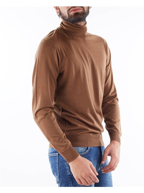 Maglia in lana rasata a collo alto Paolo Pecora PAOLO PECORA | Maglia | A003F0011181