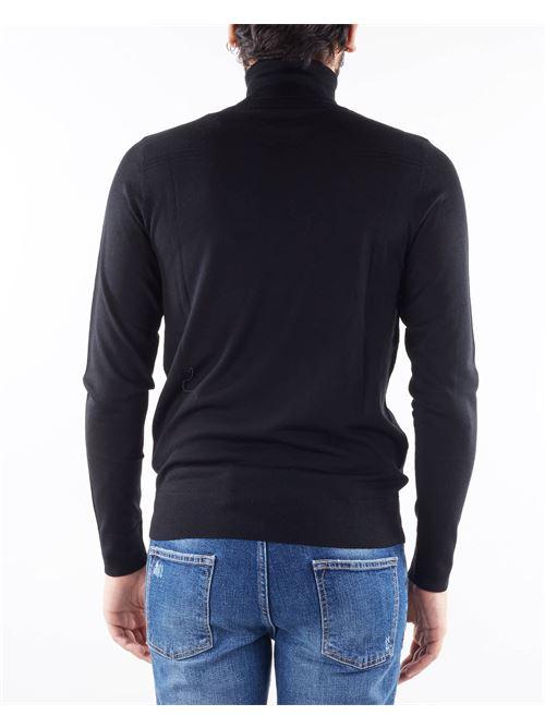 Maglia in lana rasata con collo alto Patrizia Pepe PATRIZIA PEPE | Maglia | 5M1252A124K102