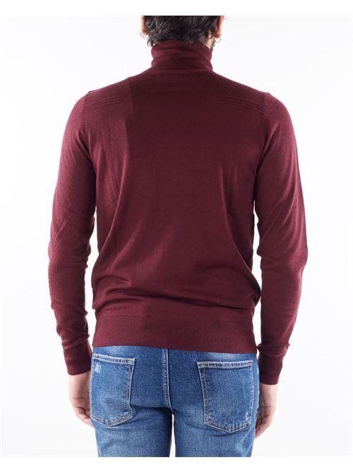 Maglia in lana rasata con collo alto Patrizia Pepe PATRIZIA PEPE | Maglia | 5M1252A124R736