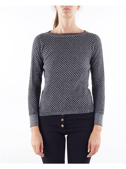 Maglia jacquard in lana Penny Black PENNY BLACK | Maglia | ALLEGRA3