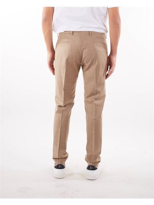 Pantalone in lana con pences Quattro Decimi QUATTRO DECIMI | Pantalone | BG07SQD42112033