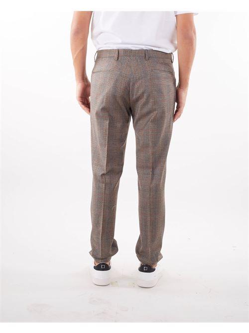 Pantalone fantasia check Quattro Decimi QUATTRO DECIMI | Pantalone | BG07SQD42112243