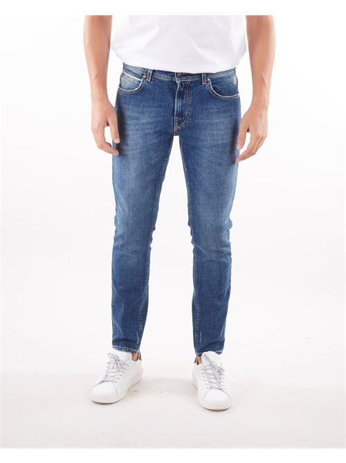 Jeans cinque tasche lavaggio medio Quattro.Decimi QUATTRO DECIMI | Jeans | RIBOTCQD42113711