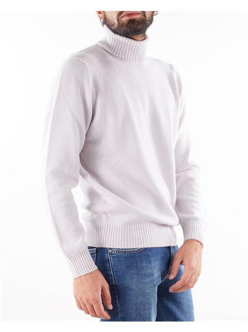 Maglia collo alto 100% cashmere Rossopuro ROSSOPURO | Maglia | U454E501