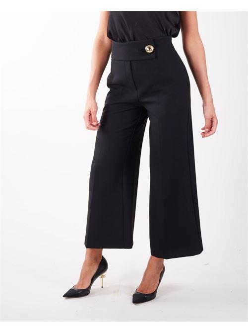 Pantalone cropped a vita alta Simona Corsellini SIMONA CORSELLINI | Pantalone | PA01401TCAD002103