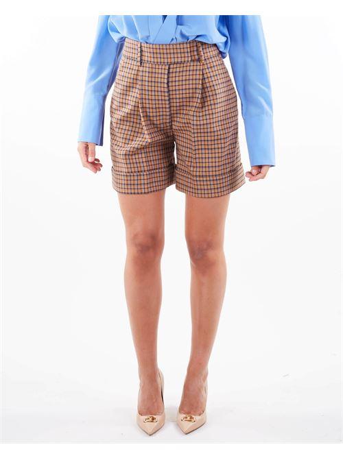 Shorts fantasia check Simona Corsellini SIMONA CORSELLINI | Shorts | SHR0101C0030009517