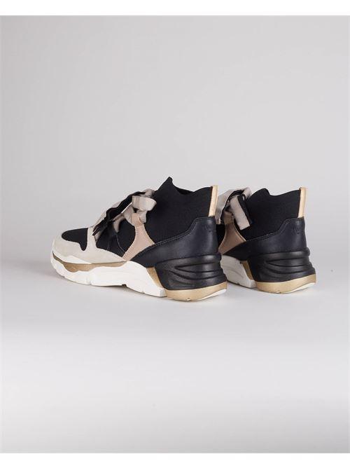 Sneakers in pelle con nastro Twinset TWIN SET | Sneakers | TCT1426534