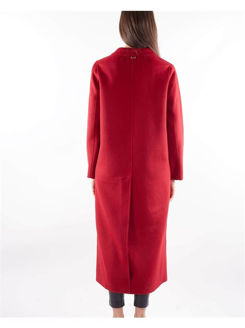 Cappotto lungo in panno double Twinset TWIN SET | Cappotto | TP201297S