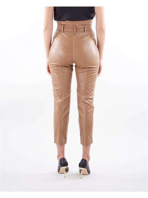 Pantaloni carrot in tessuto spalmato Twinset TWIN SET | Pantalone | TP20216195