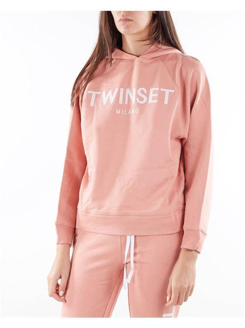 Felpa con logo ricamato Twinset TWIN SET | Felpa | TP2571430