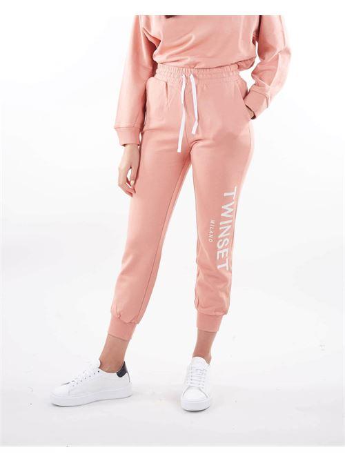 Joggers con logo ricamato Twinset TWIN SET | Pantalone | TP2572430