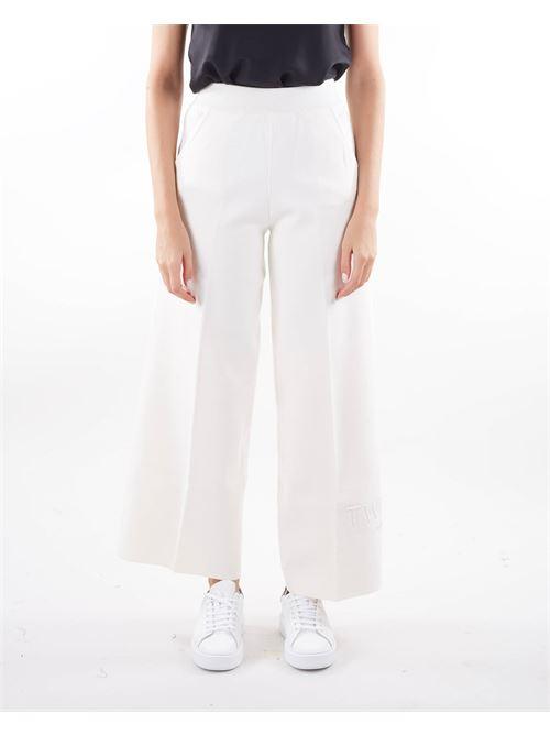 Pantaloni a palazzo in maglia Twinset TWIN SET | Pantalone | TP3247282