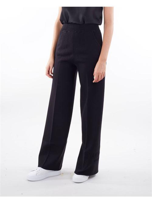 Pantaloni a palazzo in maglia Twinset TWIN SET | Pantalone | TP32476