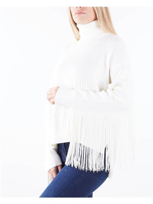Maglia dolcevita in misto lana con frange Twinset TWIN SET | Maglia | TP3290282