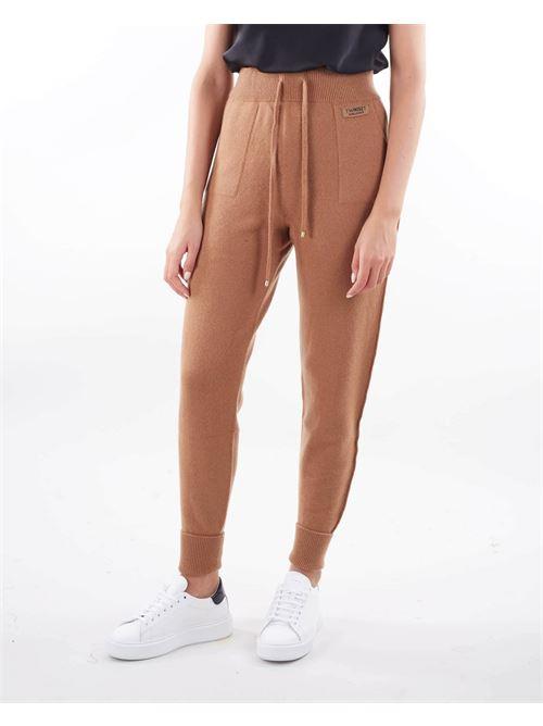 Joggers in lana e cashmere Twinset TWIN SET | Pantalone | TT31246195
