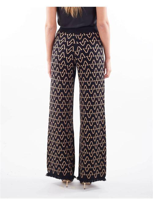 Pantalone in maglia Vicolo VICOLO | Pantalone | 2119XNERO-BEIGE